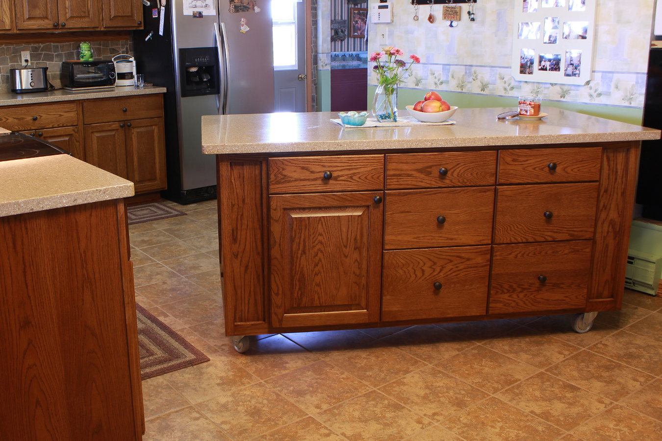 kitchen mobile island lights over custom furniture and cabinetry for residences  specialty