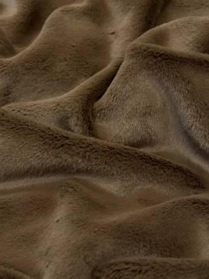 Мех искусственный мутон плотный ворс красивый коричневый оттенок_02