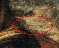 Bobbio as the background of the Mona Lisa painting  altavaltrebbia