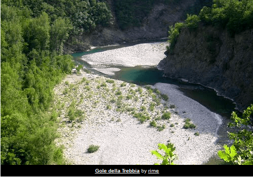 The best places to swim in the Trebbia (2/6)