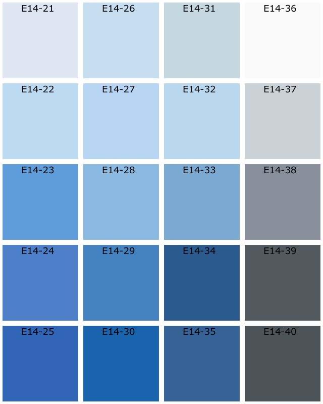 Nuancier Peinture Gris Bleu