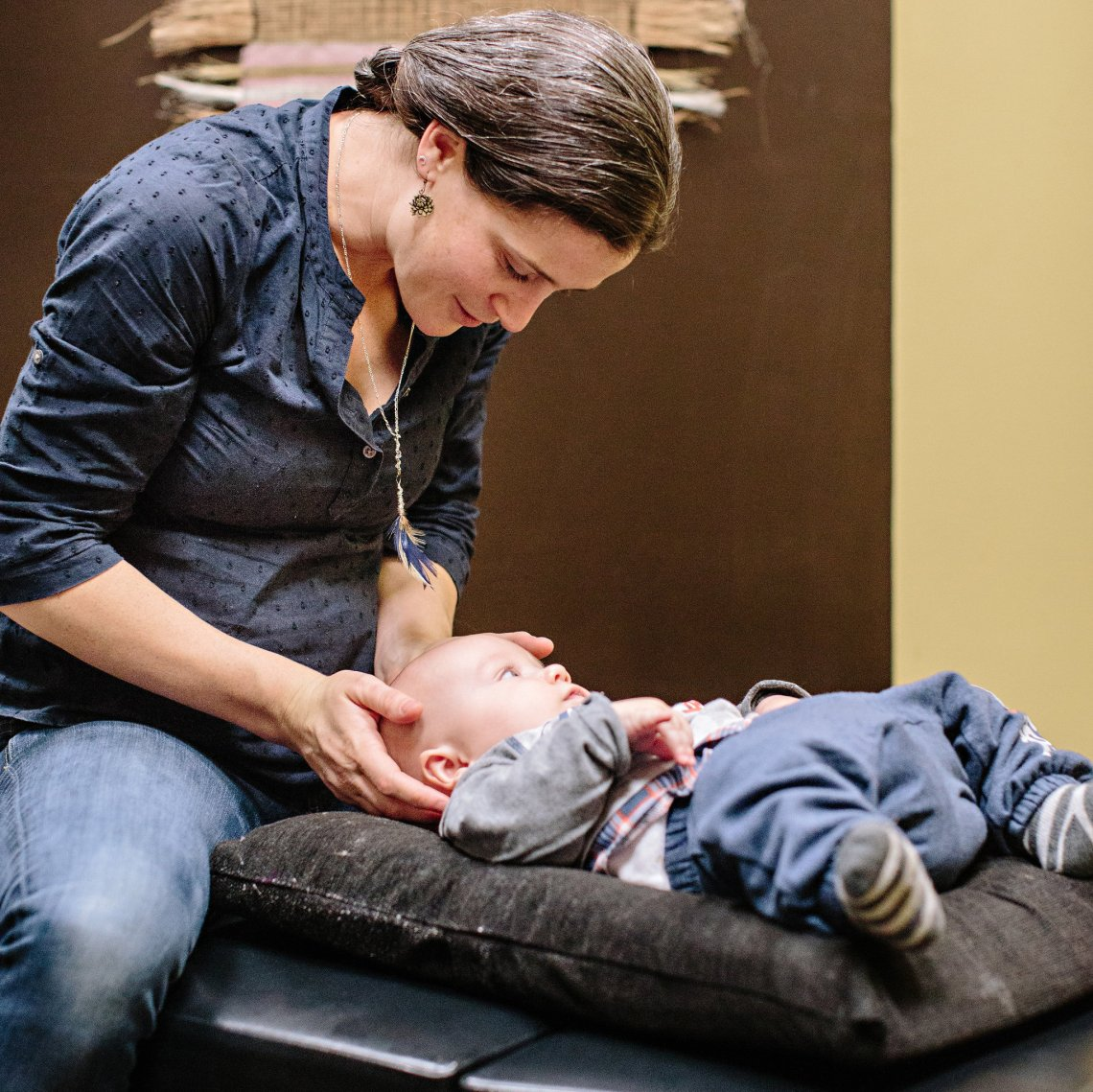 Gentle blend of chiropractic care and craniosacral therapy for all ages