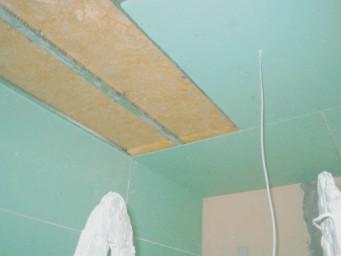 Altbau Decke abhängen & dämmen - Schallschutz Altbaumodernisierung