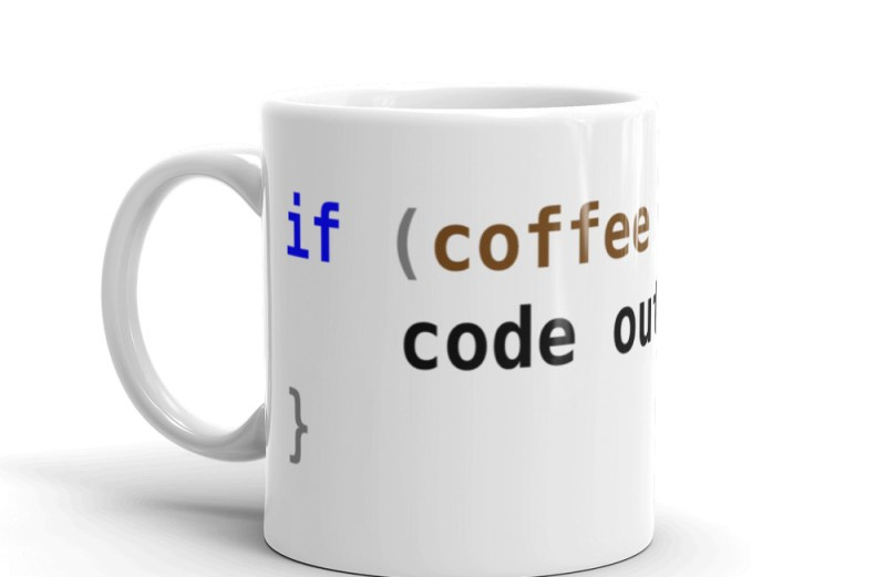 No Coffee No Code Program Mug