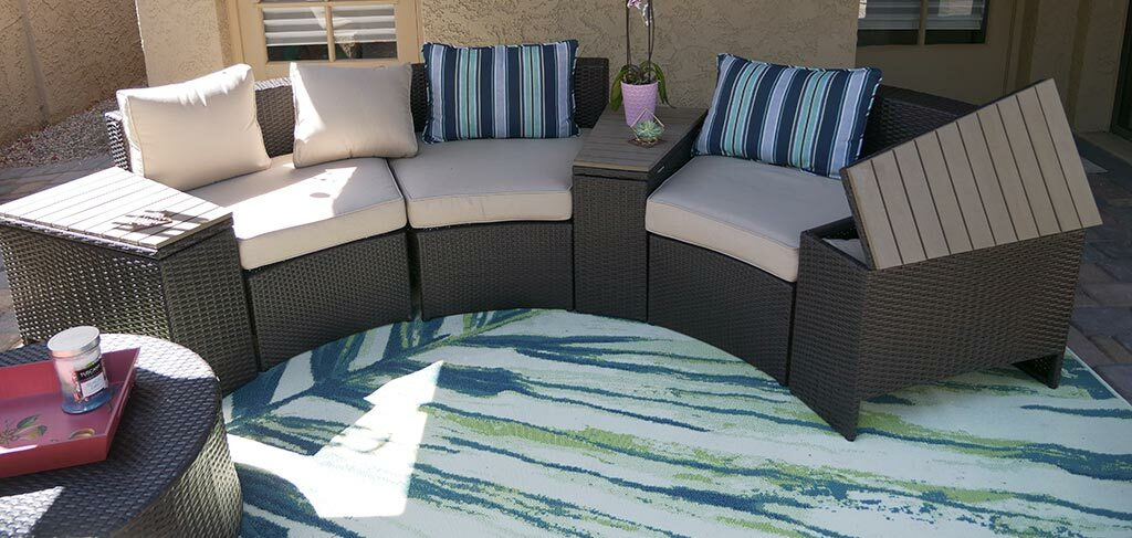 walmart outdoor sectional review