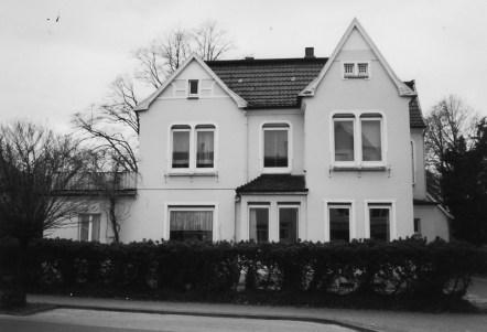 -34- Haus von Dr. Büscherhoff, später Dr. Burkhard Aufnahme 2000
