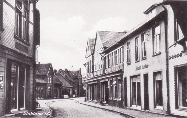 -5- Blickrichtung Westen - Links das Haus Textil Gerdesmeyer