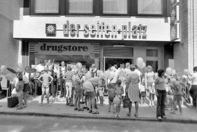 -22- Der Seifen Platz 1972, Eröffnung. Ehemals Oer