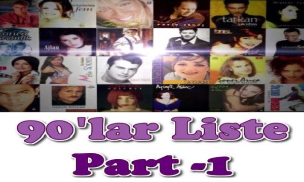 AltList - 90lar Liste Part-1: O Dönem Parlayıp Sönen 10 Şarkıcı