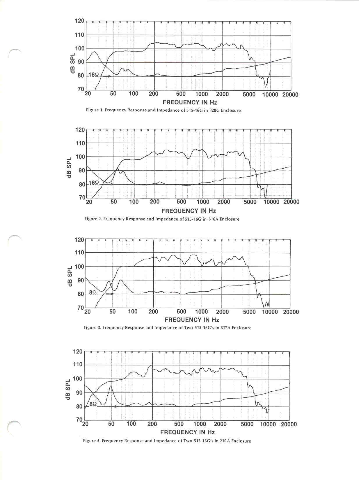 hight resolution of altec lansing 515 g series lf loudspeaker literature sheet page 3