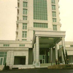 Türkmenistan Sağlık Bakanlığı Binası