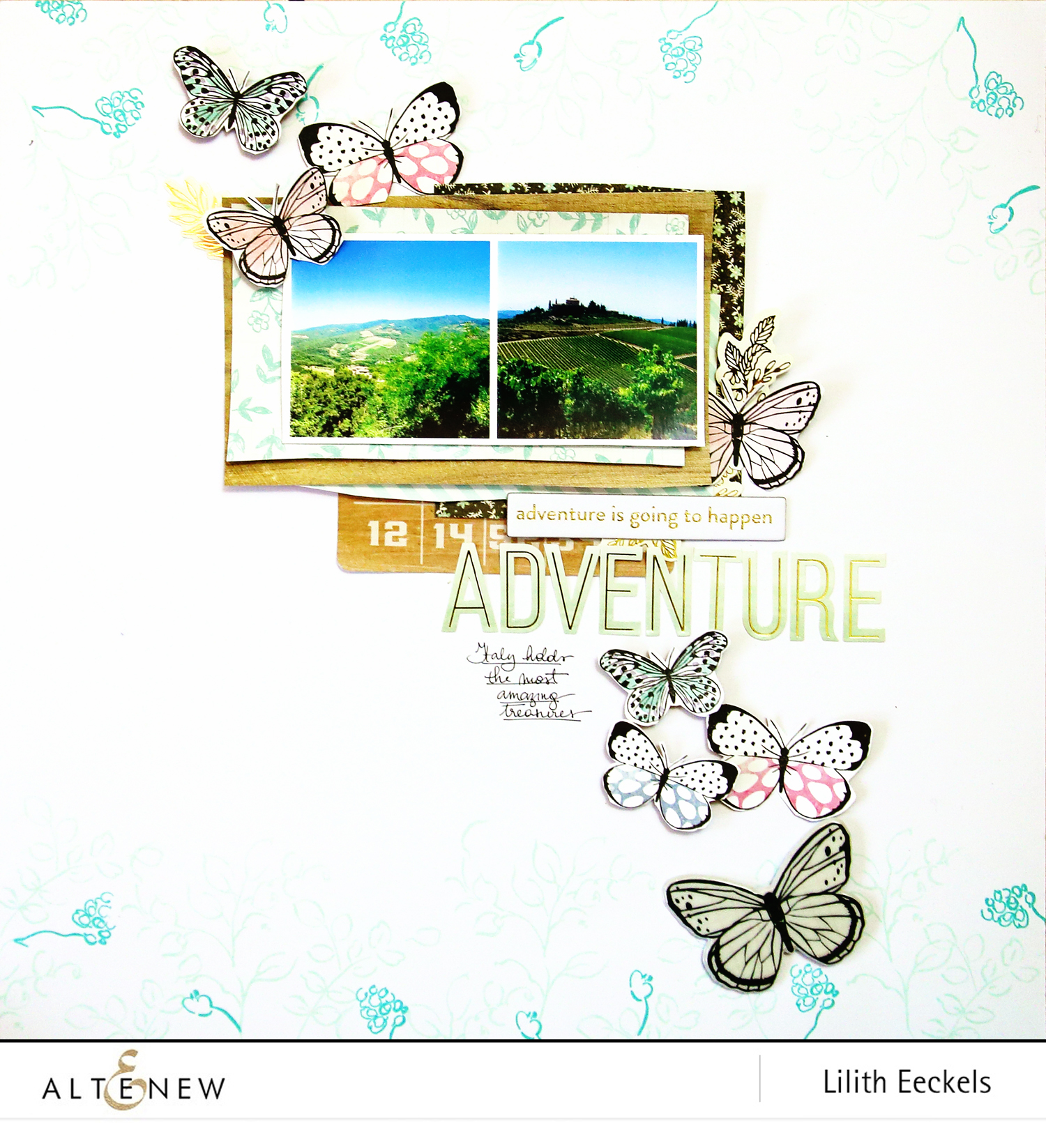 Video: Create a whimsical border using Golden Garden Stamp Set