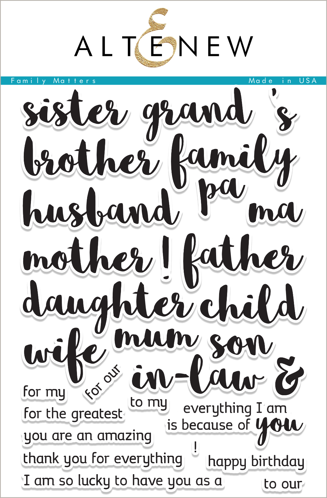 I Have To Say Really Do Love This Stamp Set It Has All The Family Sentiments You Could Need Being From UK Im Quite Excited That Mum On
