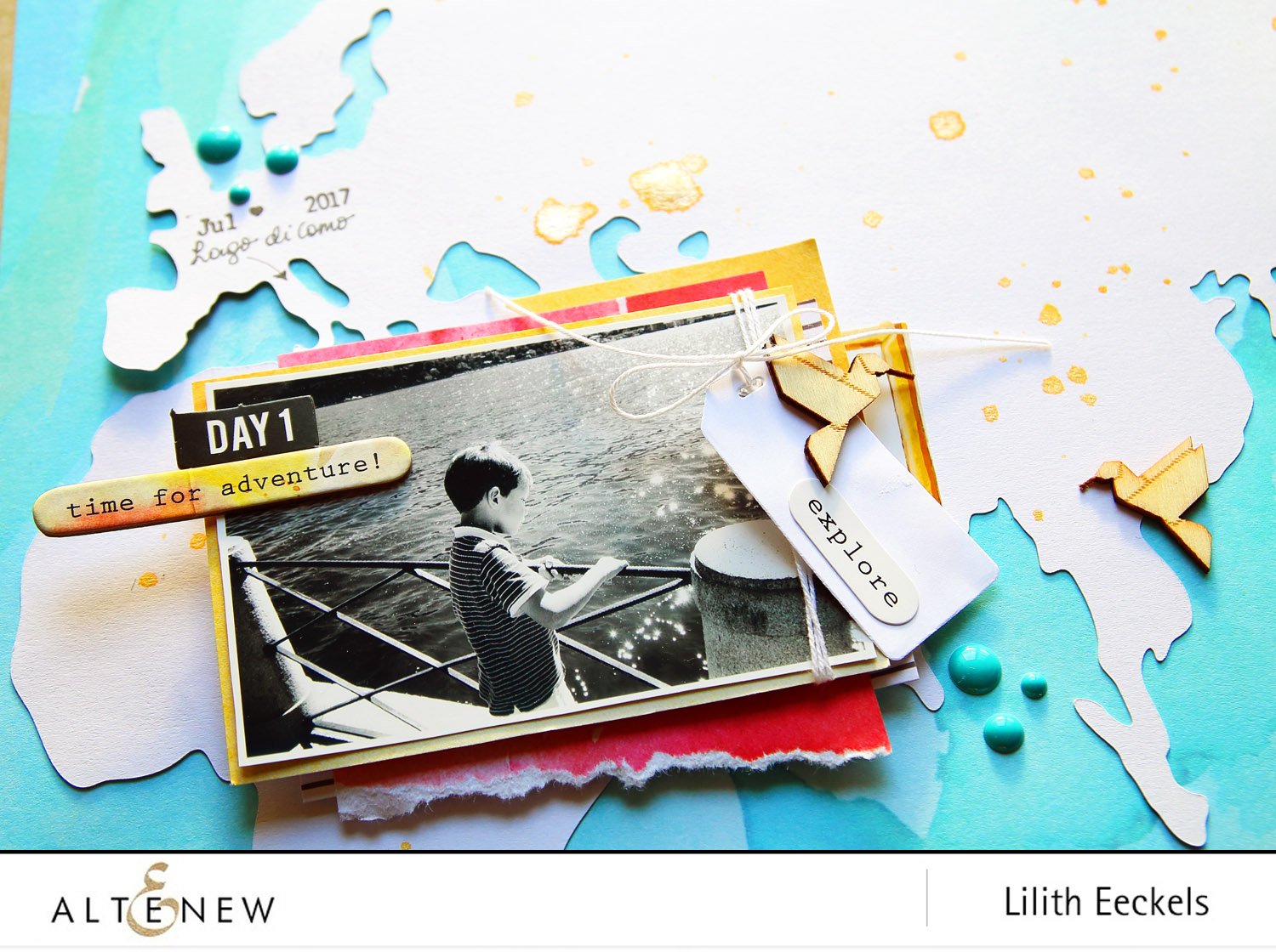 Video: Layers with the Reflection Scrapbook collection