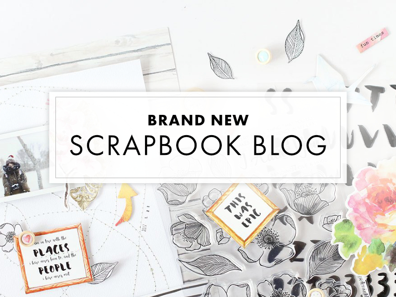 New Altenew Scrapbook Blog Launch + Giveaway