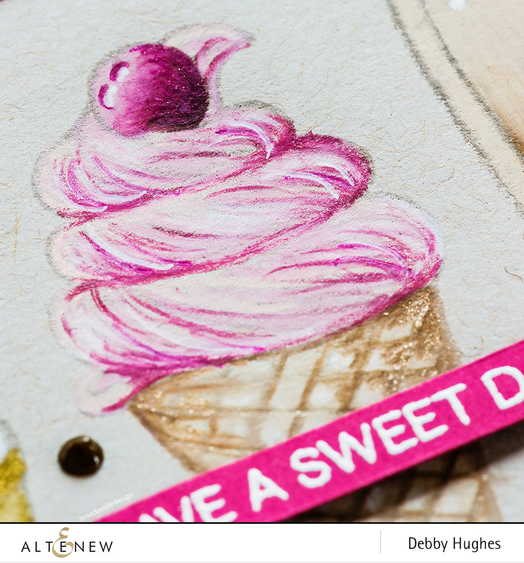 Pencil colouring on kraft with Debby Hughes. Find out more here: http://altenewblog.com/2017/08/16/pencil-colouring-on-kraft-with-debby-hughes/