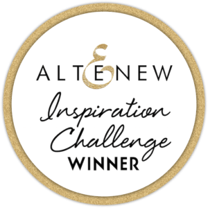 Winner of Altenew January 2020 Inspiration Challenge