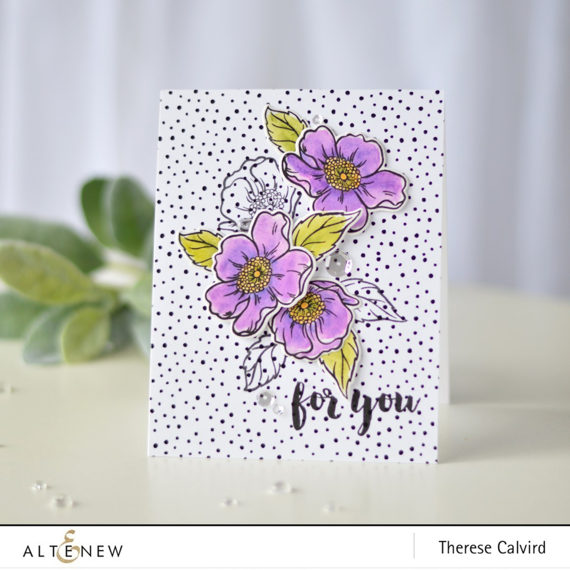 Altenew - Always There - Take 2 with Therese (card video) 3 copy