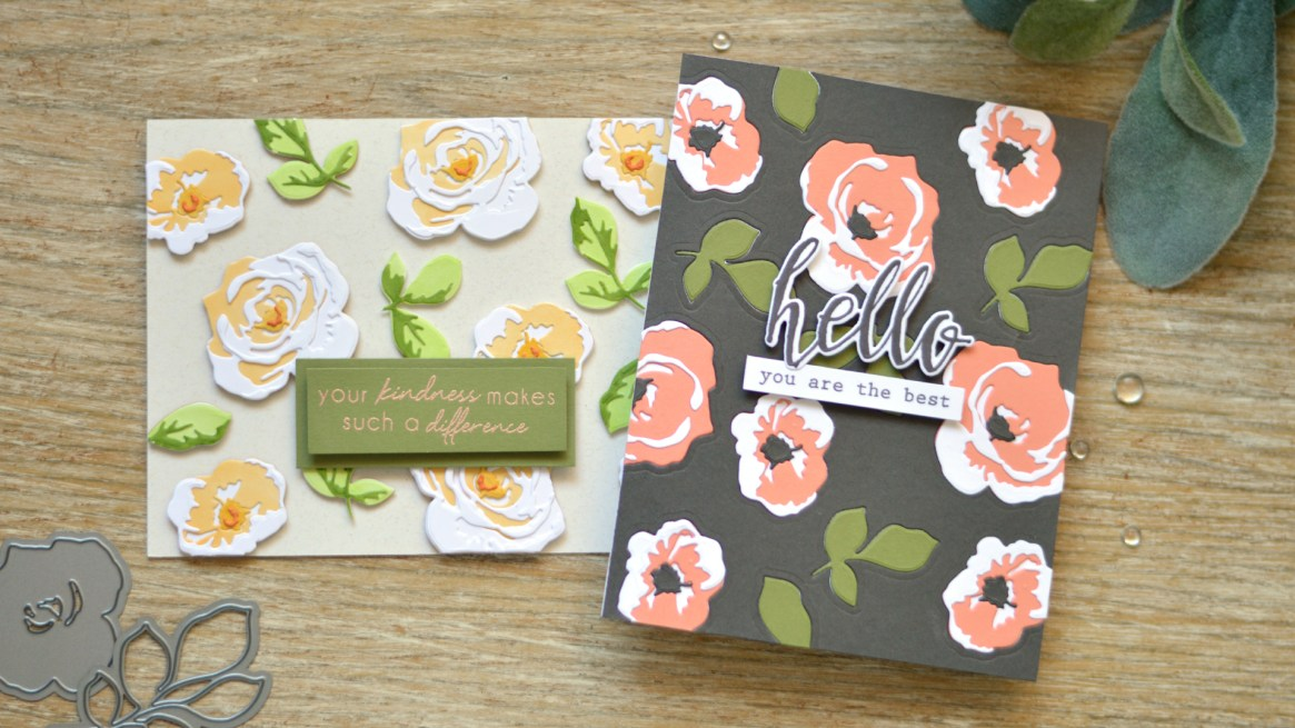 Altenew - Garden Picks 3D Die - Take 2 with Therese - Lostinpaper (card video) thumbnail