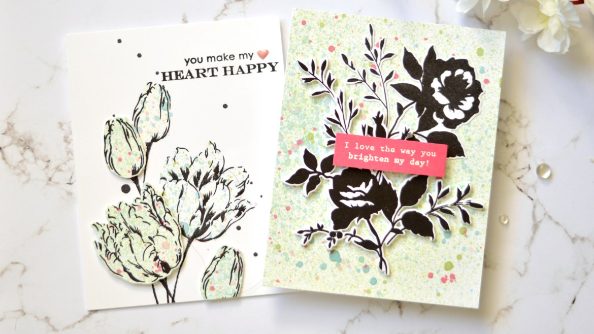 Altenew - Take 2 With Therese - Ink Sprays (card video)
