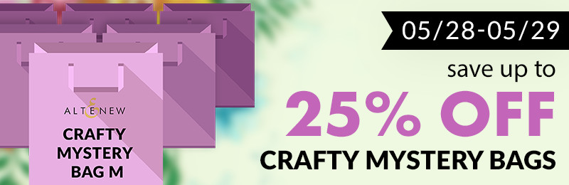 25% off all mystery bags