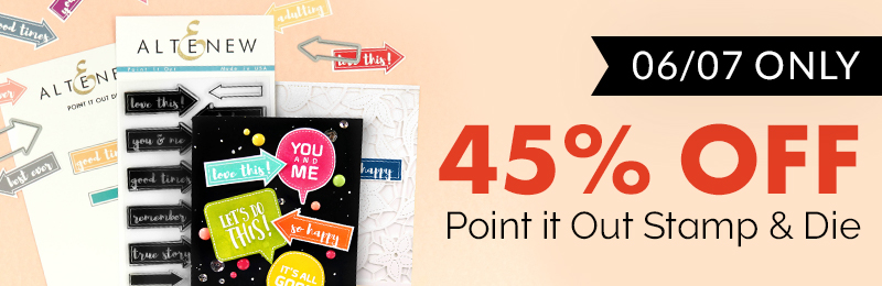 50% offPoint it Out Stamp & Die Bundle