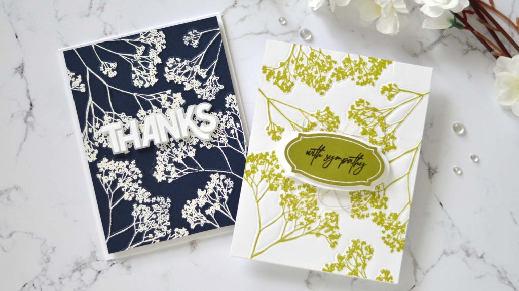Altenew - Fragile Foliage - Take 2 With Therese (card video) 1