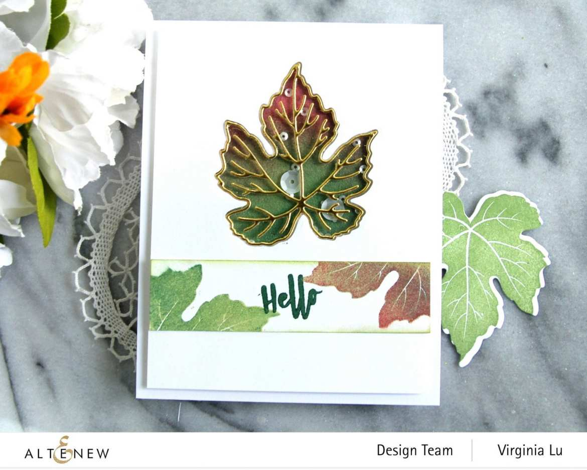 09-12-2020-Grape Leaves Stamp Set-Mixed Media Pigment Ink-003