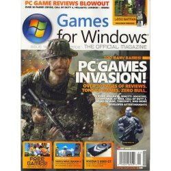 Games for Windows magazine cover