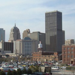 Downtown Oklahoma City circa 2008