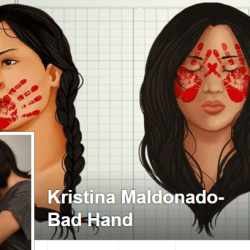 Kristina Bad Hand's Facebook banner
