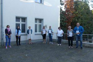 Gruppenfoto des Pflegekurses in Hattingen