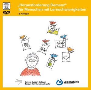Titelbild der DVD. Eine Zeichnung, auf der Schmetterlinge mit Erinnerungen einer Frau wegfliegen.