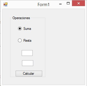 radio form