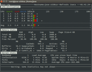 nmon monitor server linux
