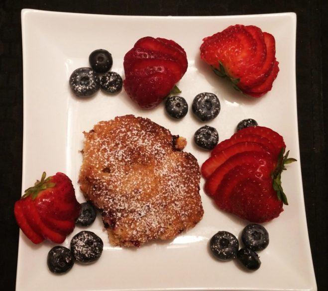 Berry-white chocolate cookies