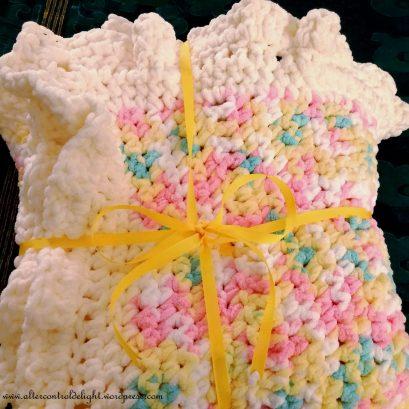 Crochet Baby Blanket 1