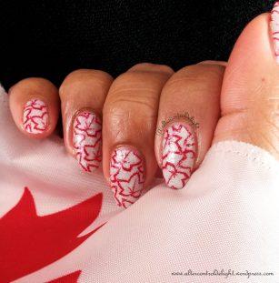 Canada Day Mani