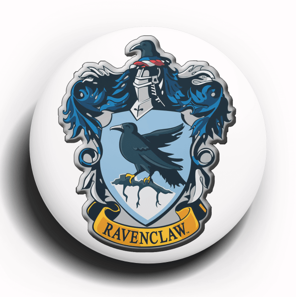 Harry Potter Ravenclaw Crest Button Pin
