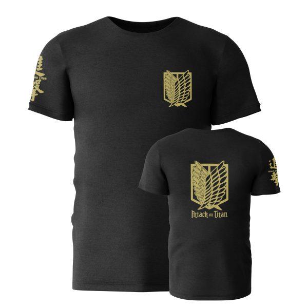 Attack on Titan Golden Survey Corps T-Shirt