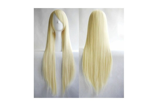 Straight Long Blond Wig