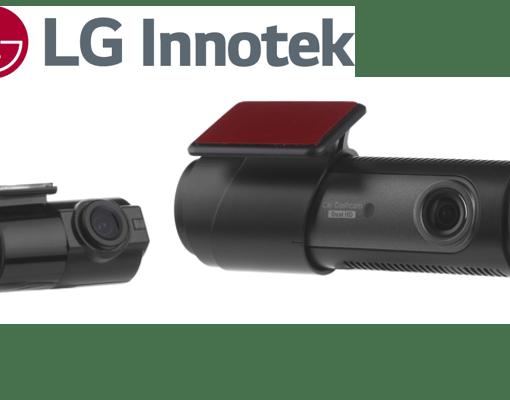 LG - LGD323 2-CHAN FR0NT & REAR 720P HD DASHCAM