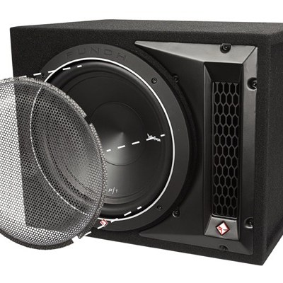 "ROCKFORD FOSGATE - P2-1X10 Single P2 10"" Loaded Enclosure Oakville"