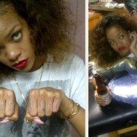 Rihanna's Tattoos Explained