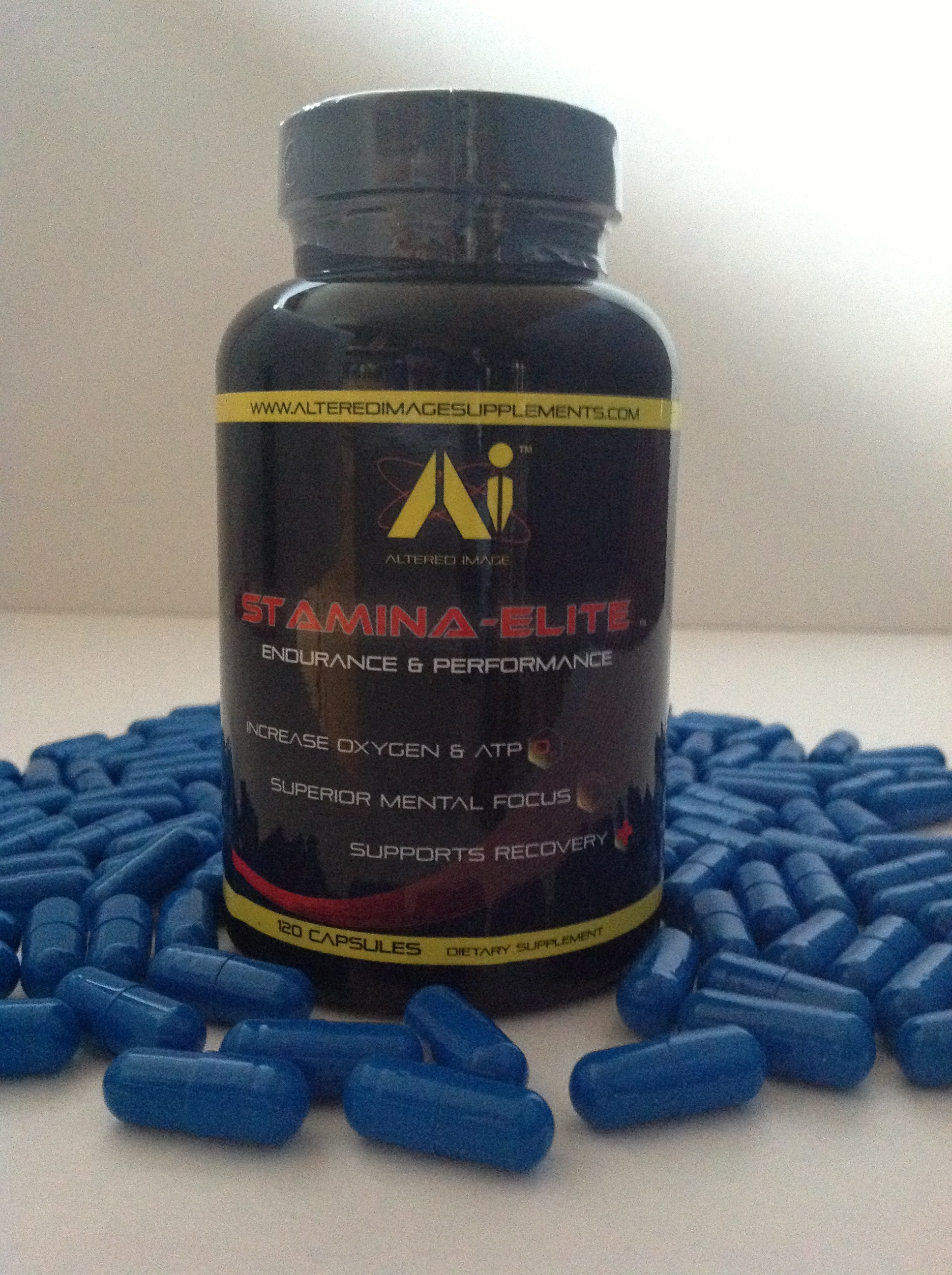 Stamina Elite: Energy & Performance, increase oxygen & ATP, Superior mental focus, Supports recovery