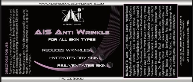 AIS Anti Wrinkle Cream