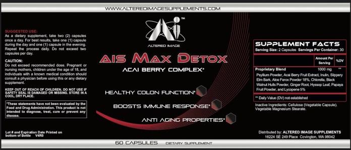 AIS Max Detox