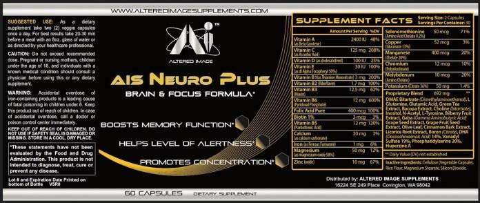 AIS Neuro Plus