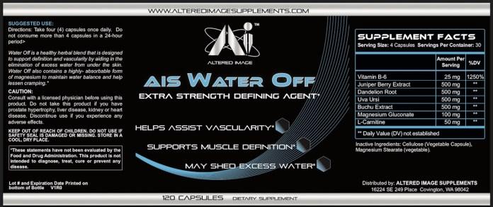 AIS Water Off