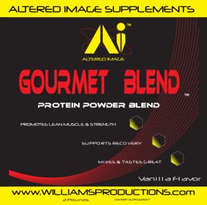 Gourmet Blend (Vanilla) - Protein Powder Blend - 2 Pounds